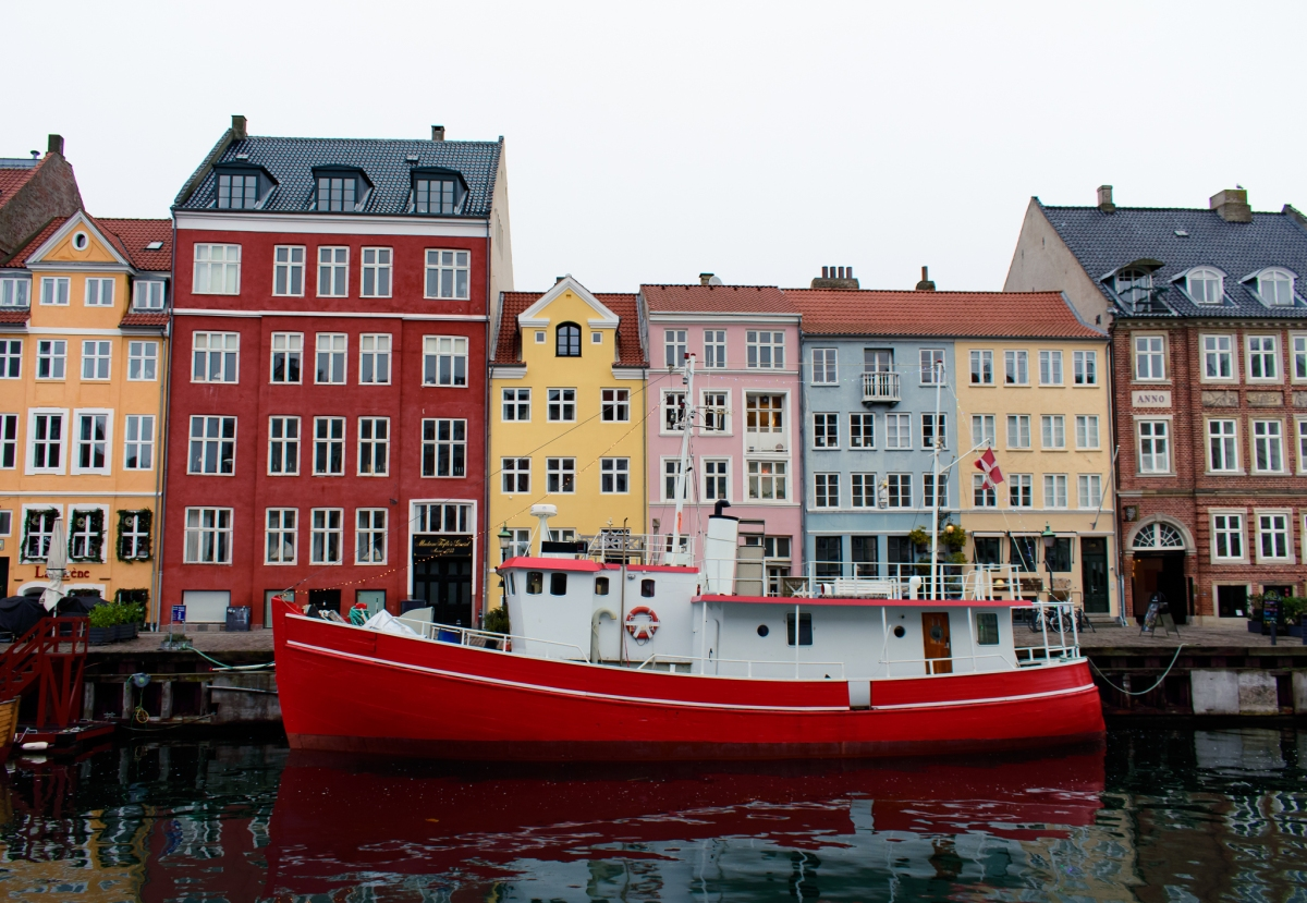 Photo of colourful houses along Nyhavn